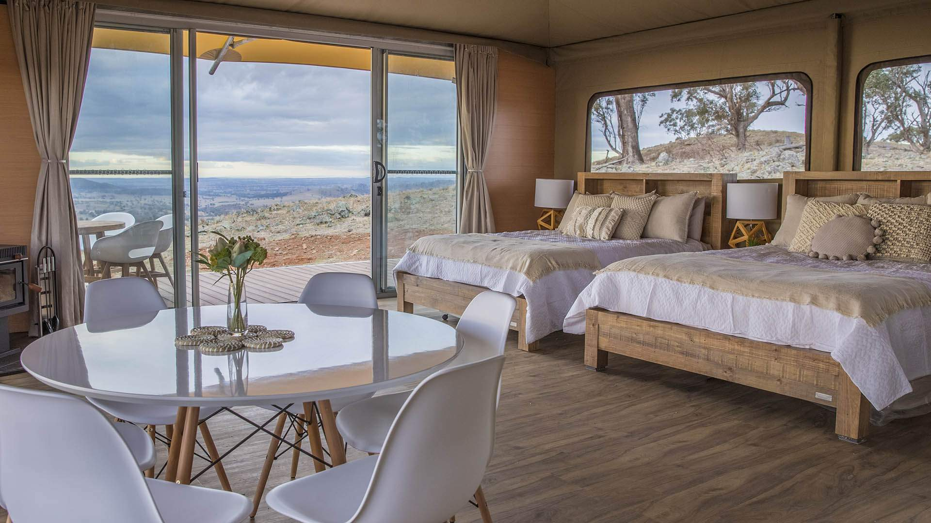 Mudgee's Luxe Hillside Glamping Retreat Has Expanded