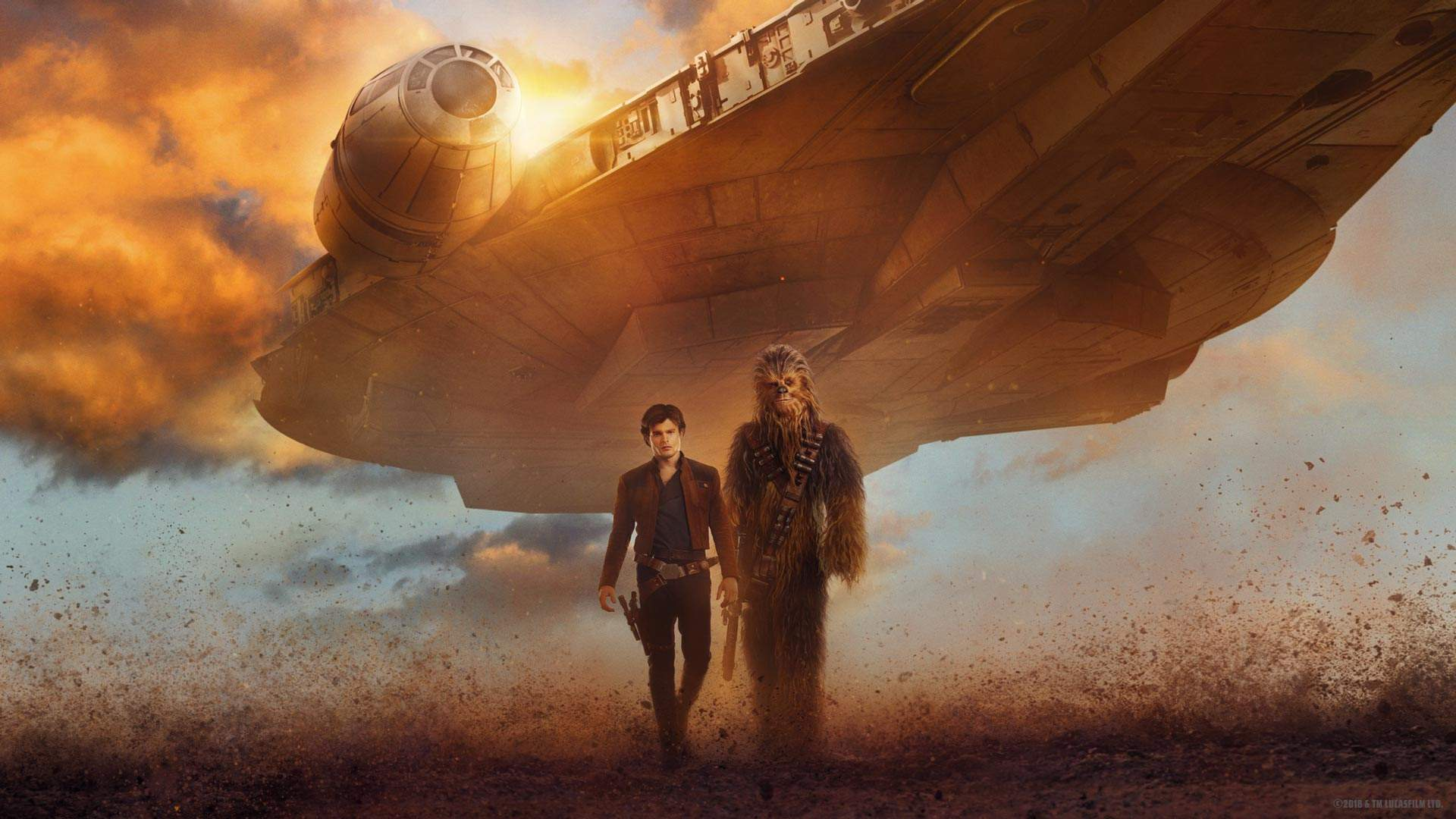 'Solo: A Star Wars Story' Falcon Formation Fan Event