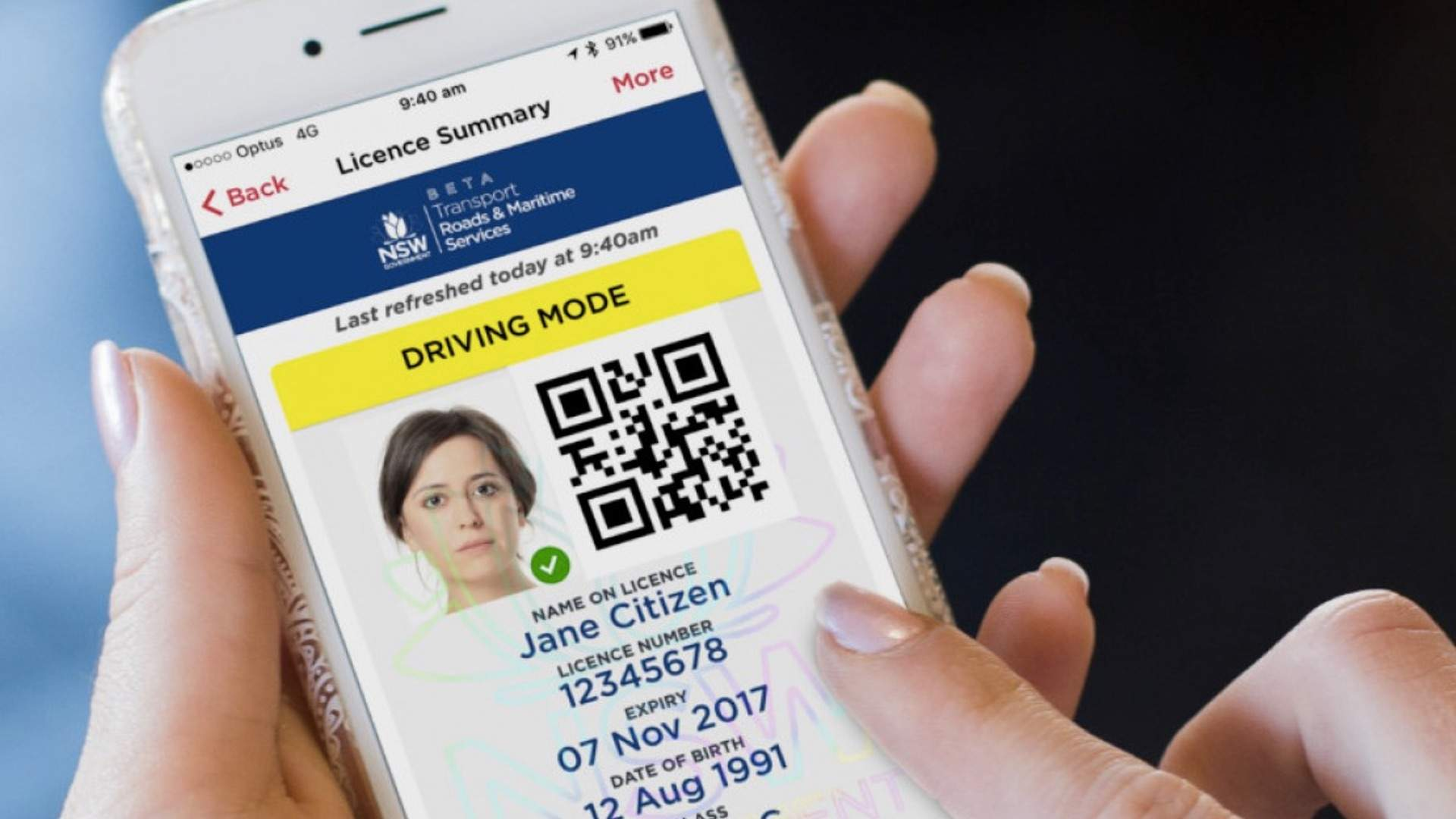 Some Sydneysiders Will Soon Be Eligible for a Digital Drivers Licence