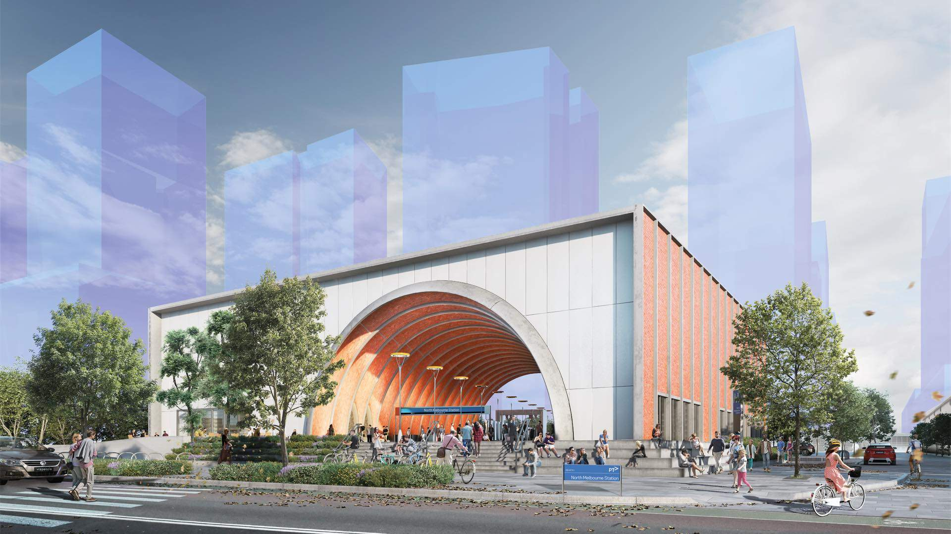 This Is What Melbourne's Five New Metro Tunnel Stations Will Look Like in 2025