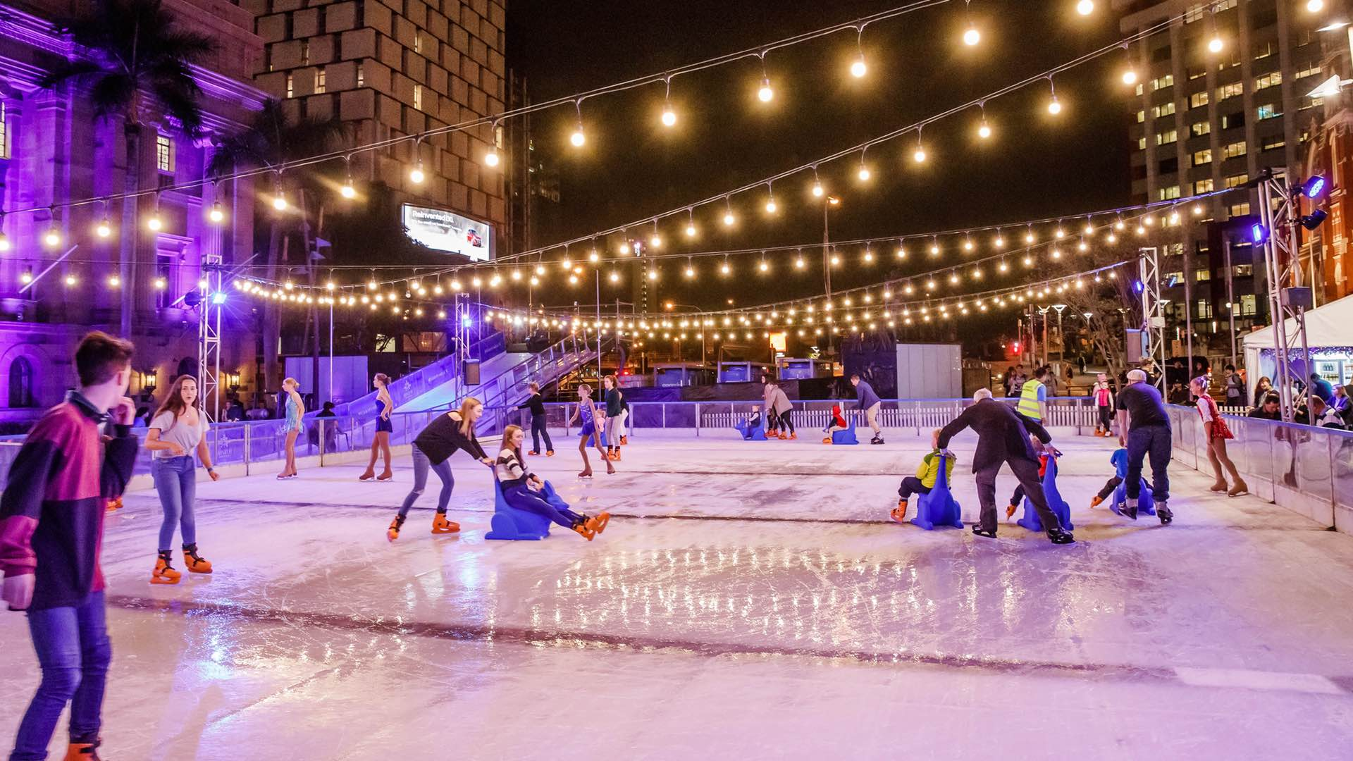Skating At Brisbane Festival 2019