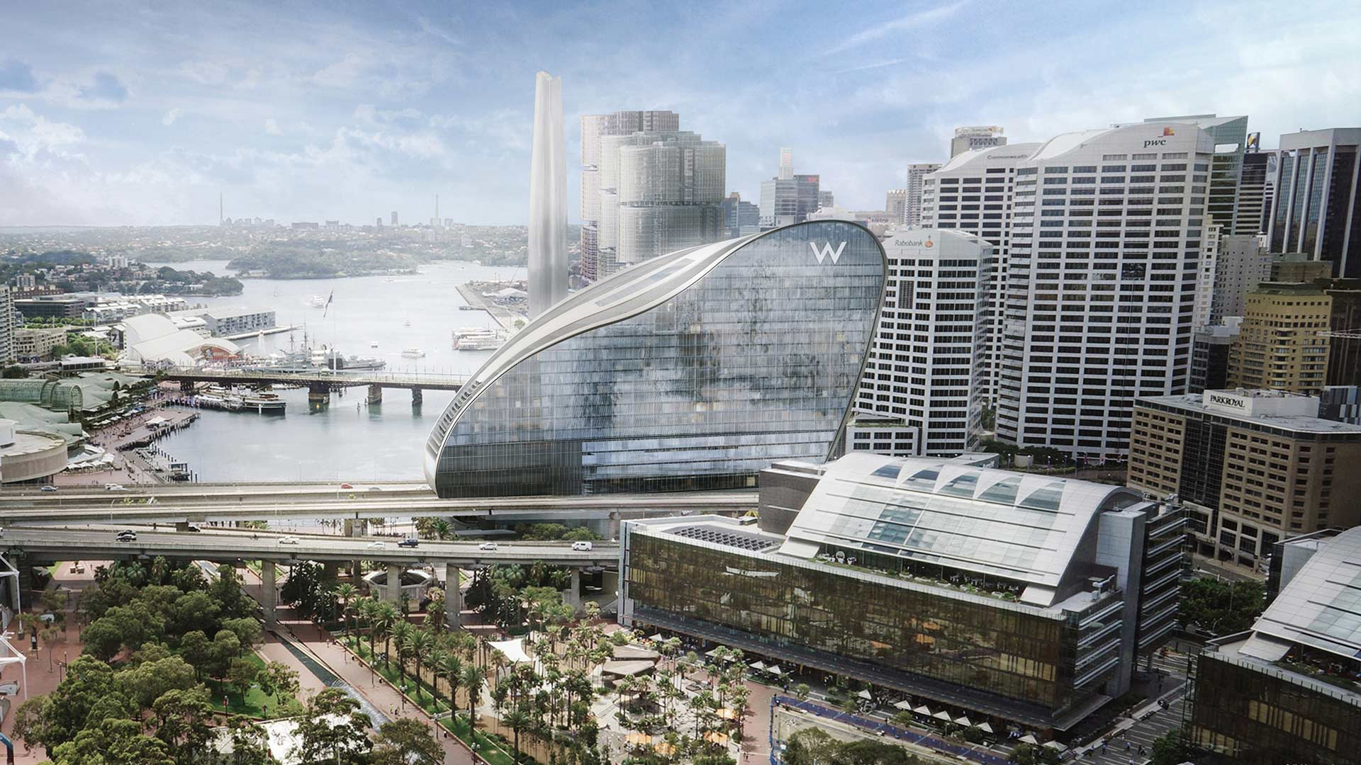 W Hotel Is Returning to Sydney as Part of a Luxury Darling Harbour Development