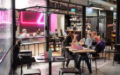 The Opening Date Has Been Set for Queen Street's New Dining Precinct