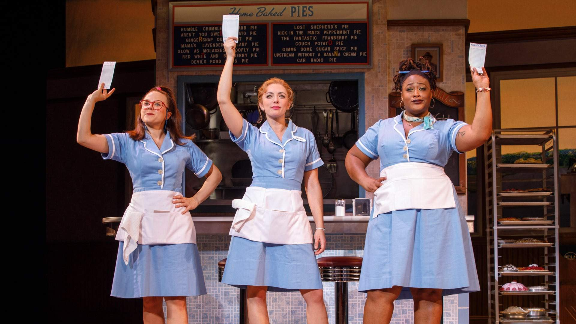 Tony Award-Nominated Broadway Musical 'Waitress' Is Sashaying Into Sydney