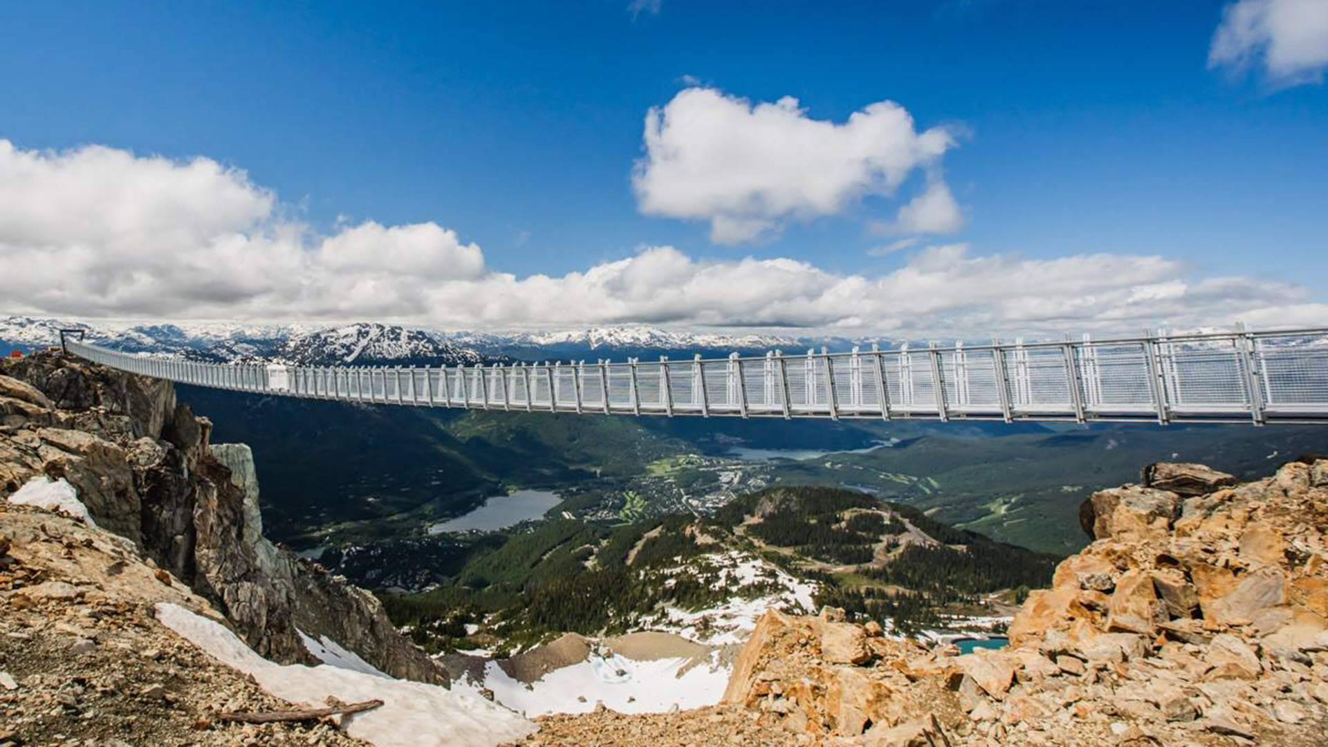 This Sky-High Suspension Bridge Lets You Walk Over Canada's Famed Whistler Bowl