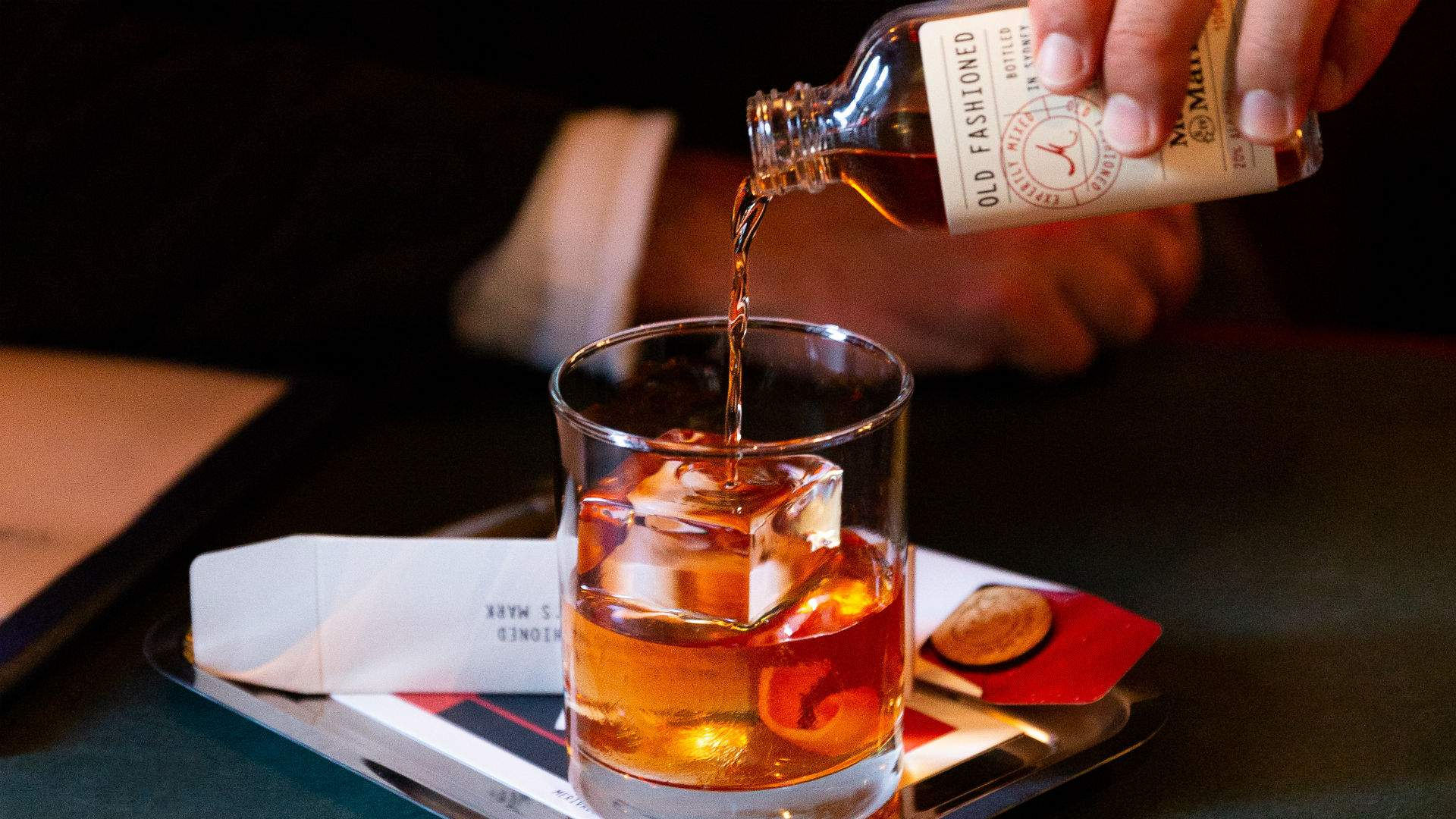 Merivale x Maker's Mark Old-Fashioned