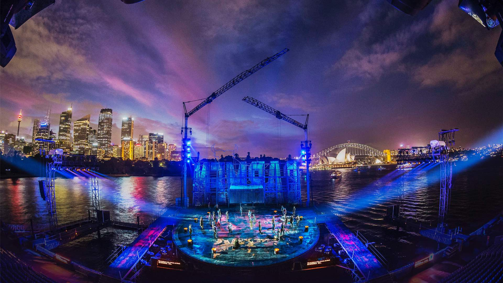Opera Australia Is Bringing 'West Side Story' to Sydney Harbour's Floating Stage