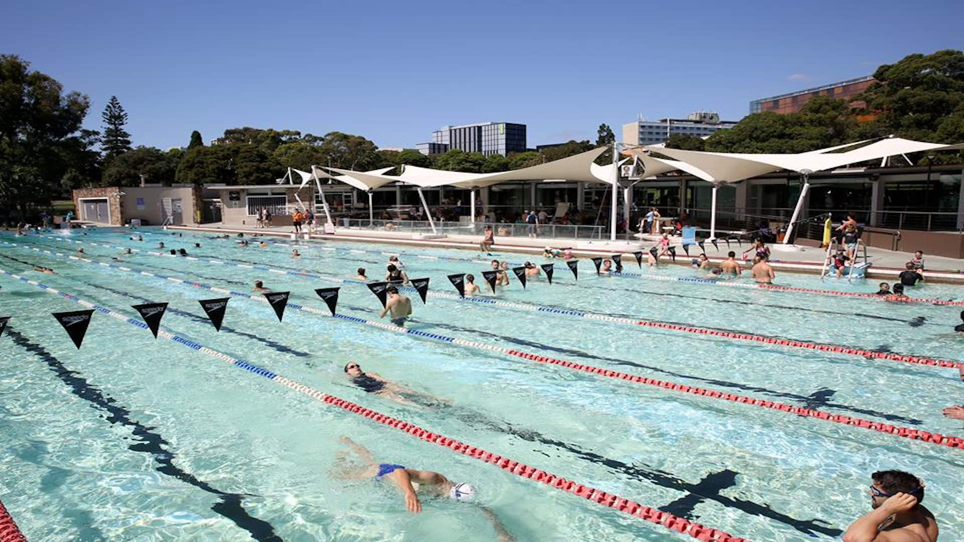 Sydney 39 s best heated pools for a wintertime dip concrete playground concrete playground sydney for North sydney pool swimming lessons