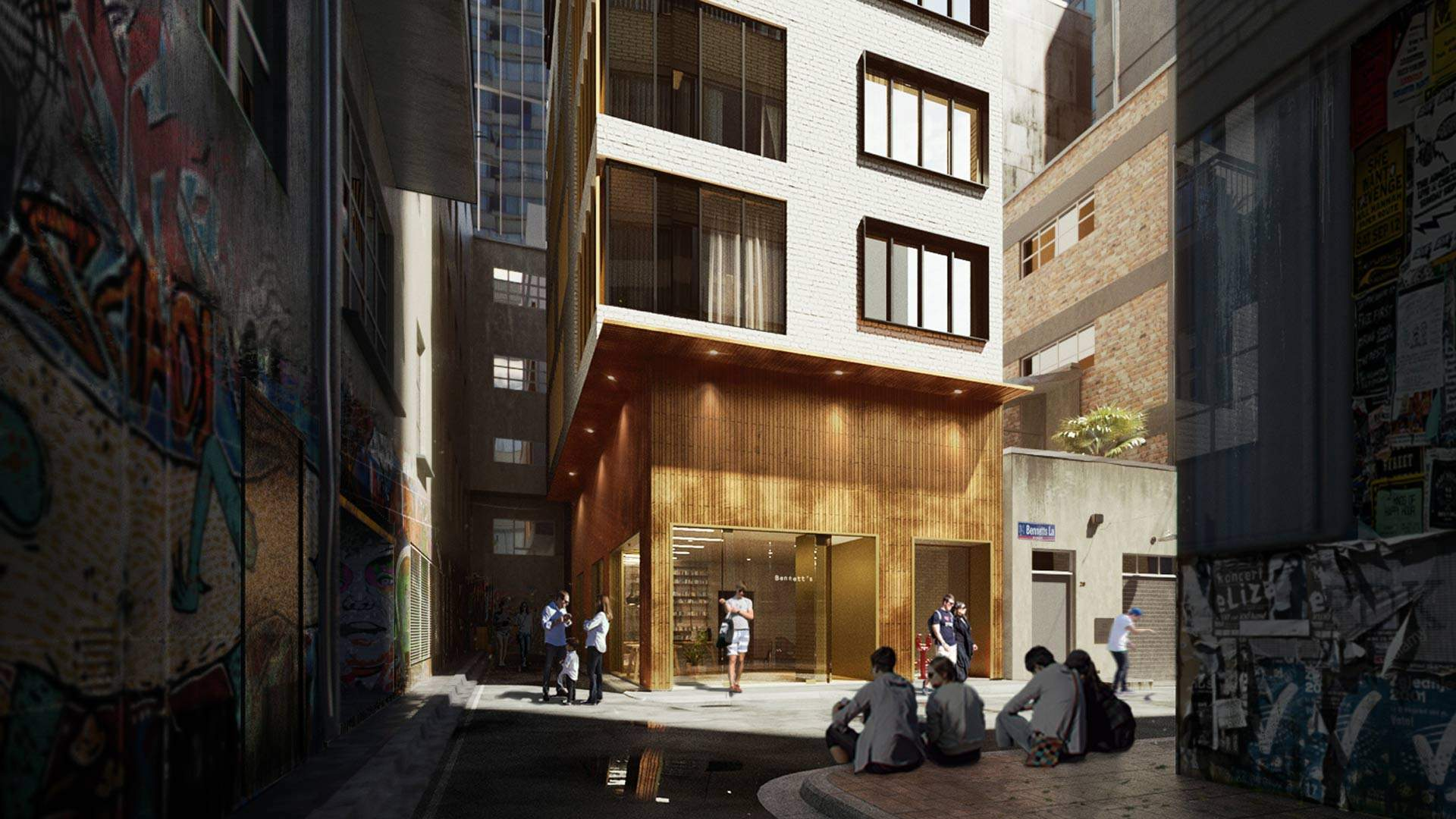 Bennetts Lane Will Soon Be Home to a Jazz Era-Inspired Boutique Hotel