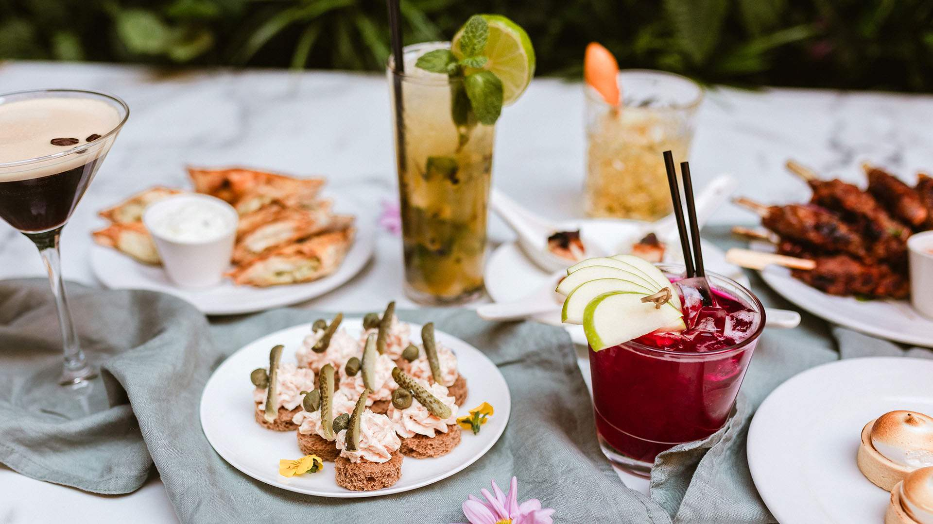 Cocktails & Canapes — Spring Edition