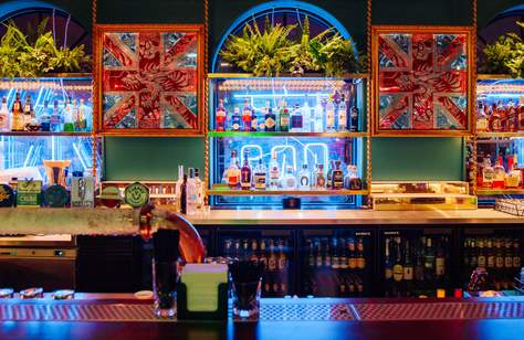 A New Adults-Only Arcade Bar from the Holey Moley Team Has Just Opened in the CBD