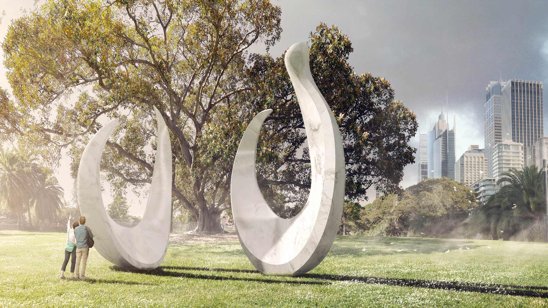 Bennelong Point Will Soon Be Home to a Stunning New Artwork Honouring Australia's First Nations People