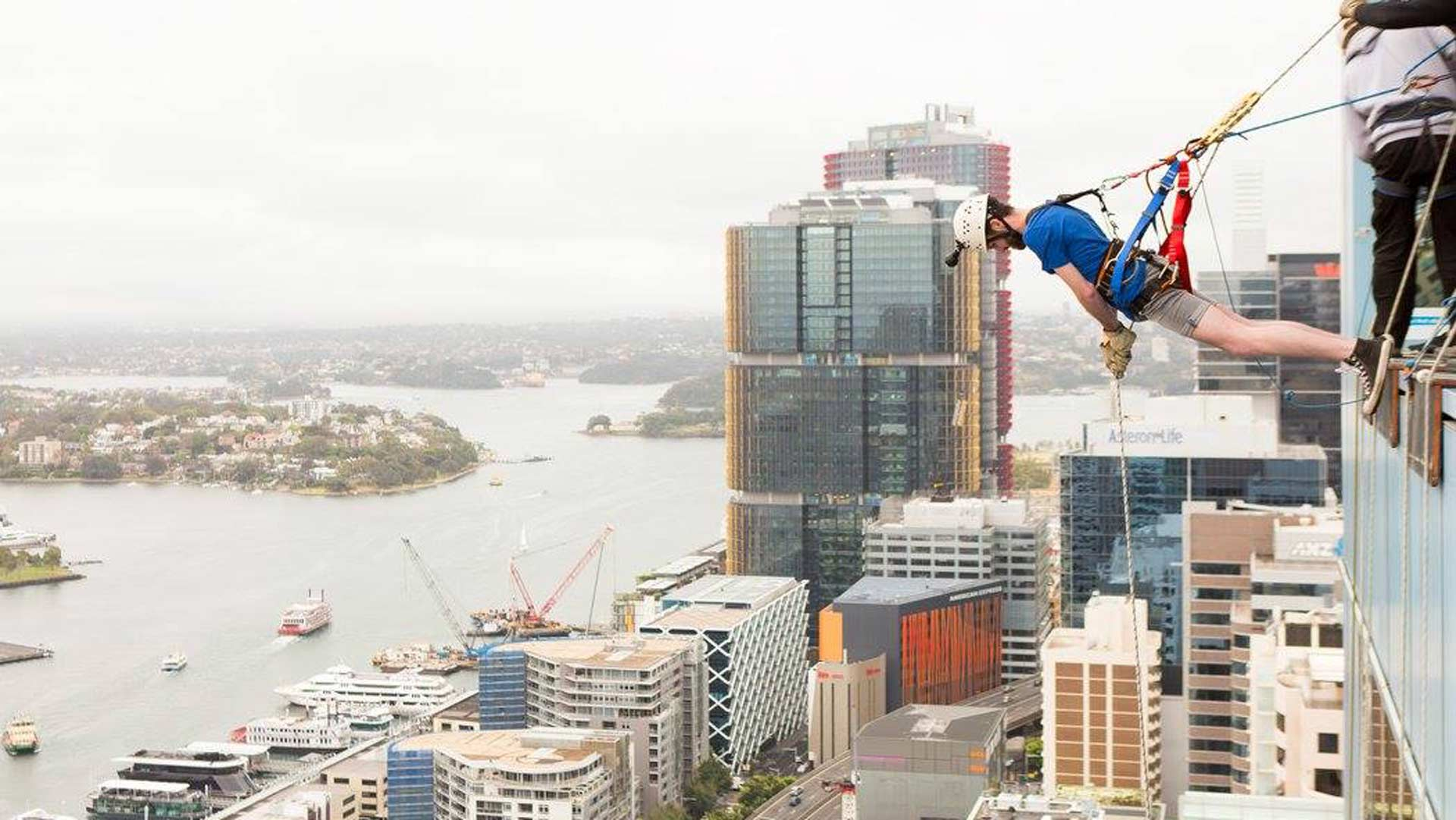 Sydneysiders Will Soon Be Able to Abseil Down a 33-Storey CBD Skyscraper
