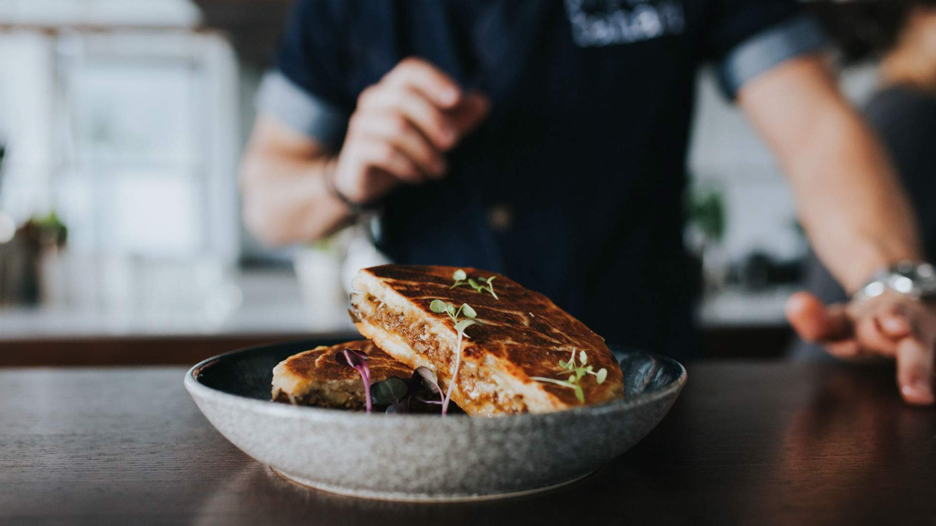 Richmond's Bahari Has Opened a New Upstairs Space with Greek Cocktails and Moussaka Toasties