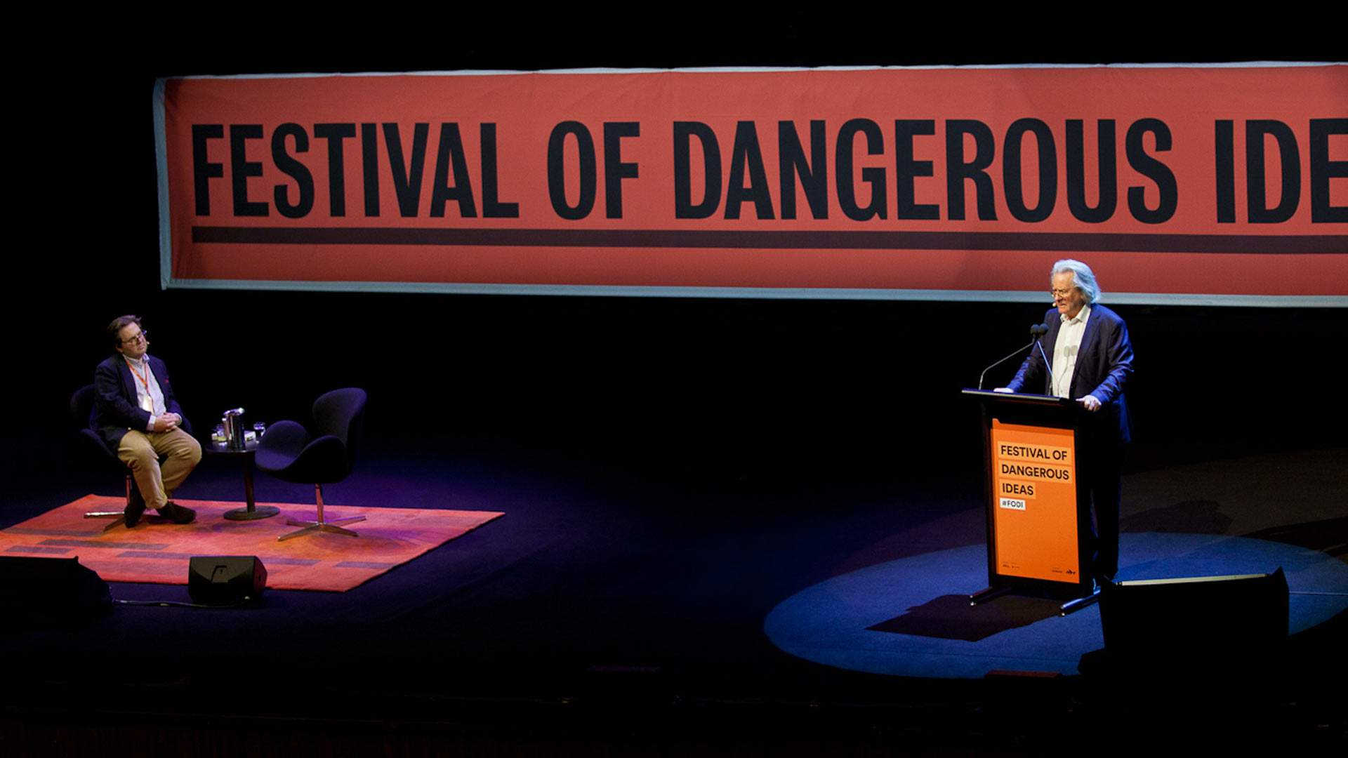 Stephen Fry and an Ex-Westboro Baptist Church Member Will Speak at the New-Look Festival of Dangerous Ideas
