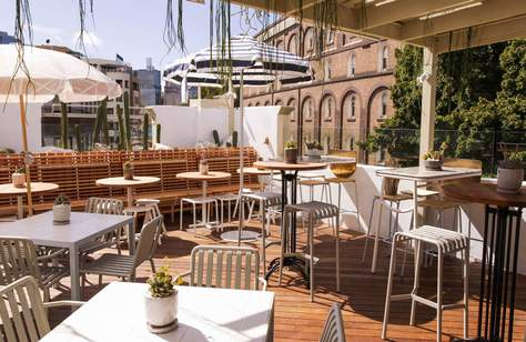 A New Pastel and Plant-Filled Rooftop Bar Has Arrived in Pyrmont
