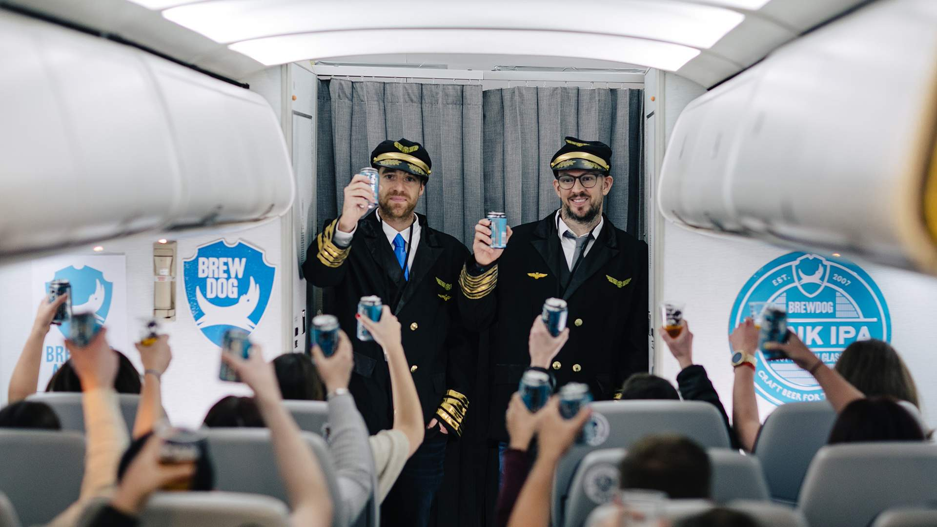 BrewDog's Suitably Boozy Craft Beer Airline Is Hitting the Skies Again
