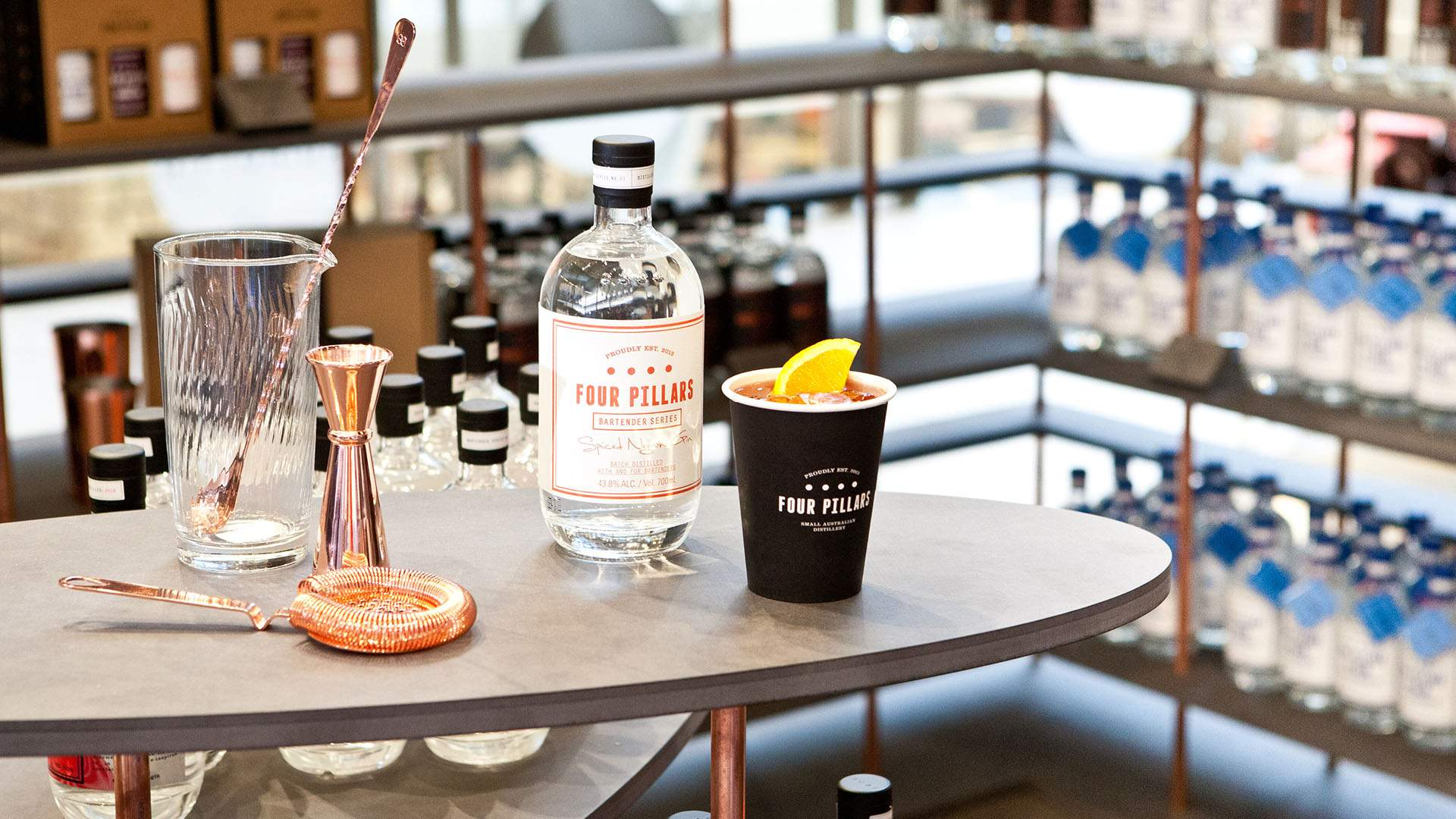 Four Pillars Myer Pop-Up Gin Store