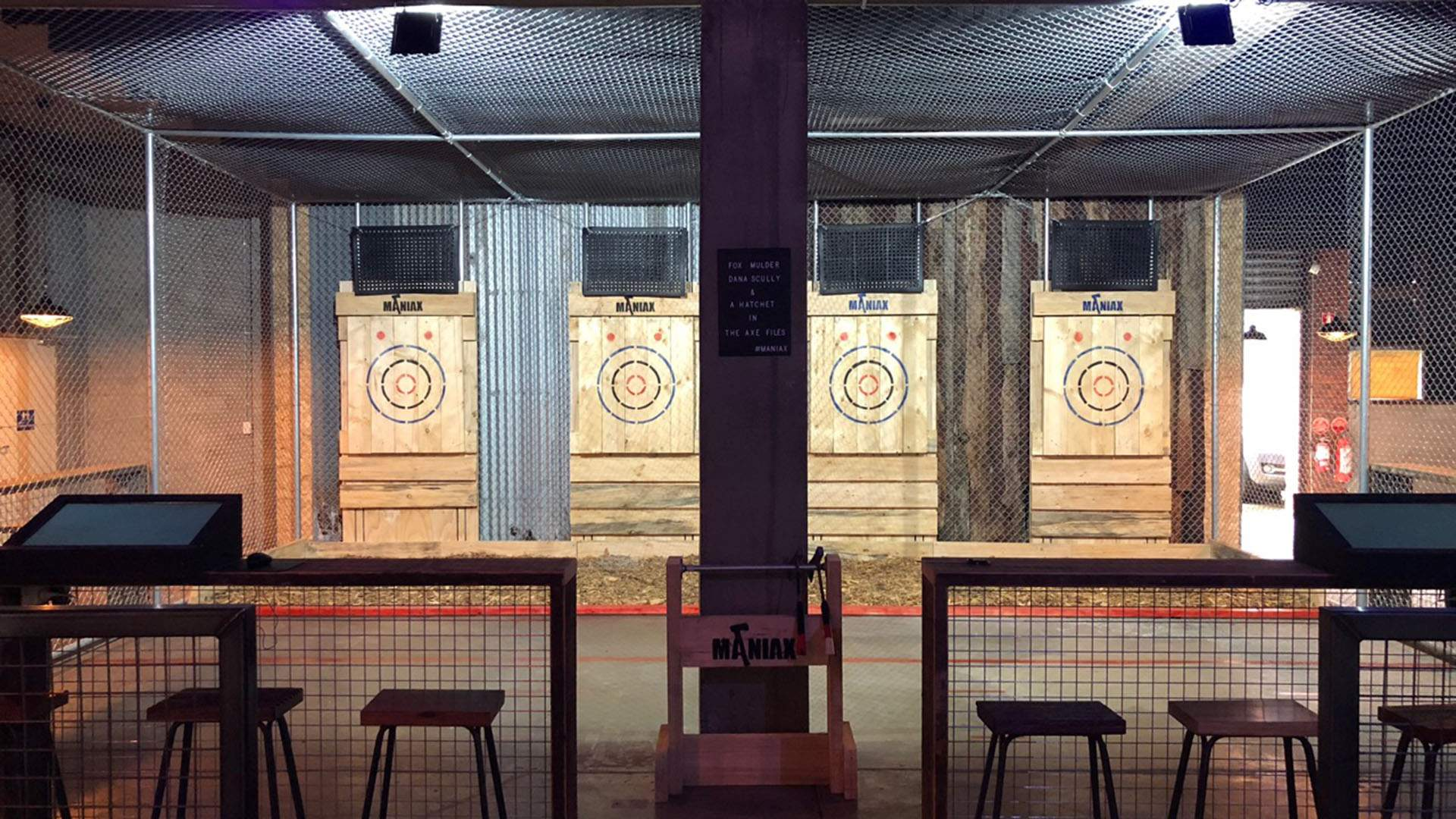 Sydney's Axe Throwing Joint Maniax Has Finally Arrived in Brisbane