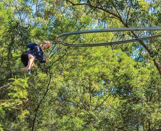 Western Sydney Will Soon Be Home to the World's Fastest Roller Coaster Zipline