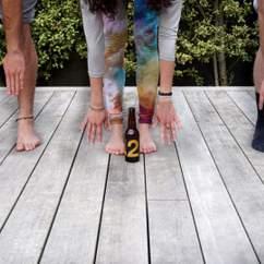Beer Yoga at Hallertau Brewery