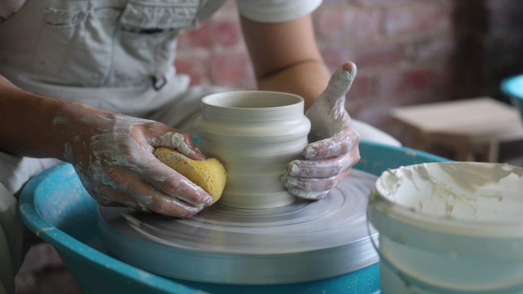 Wine, Dine and Claytime Experience