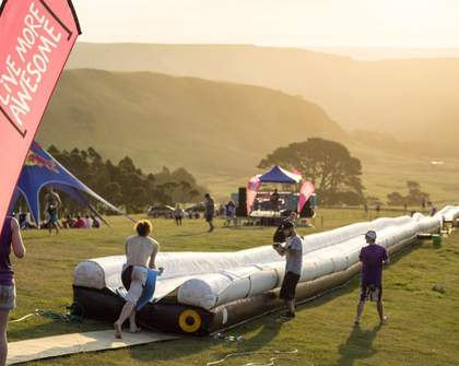 The World's Biggest Waterslide Is Coming Back for One Last Slippery Ride