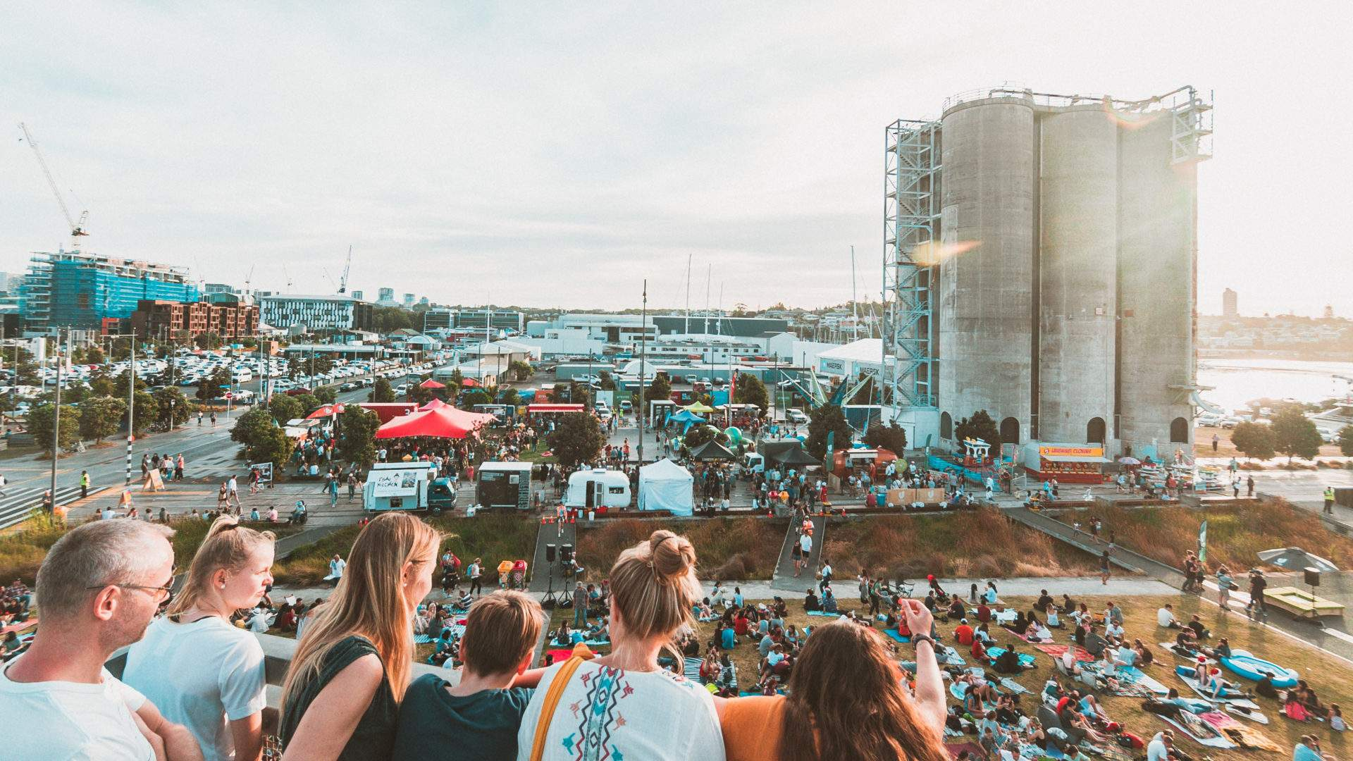 Silo Park's Huge Summer Lineup Is Here with Openair Films, Ice Cream Markets and Free Gigs