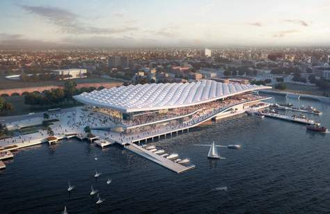 This Is What the Huge New Sydney Fish Market Will Look Like in 2023