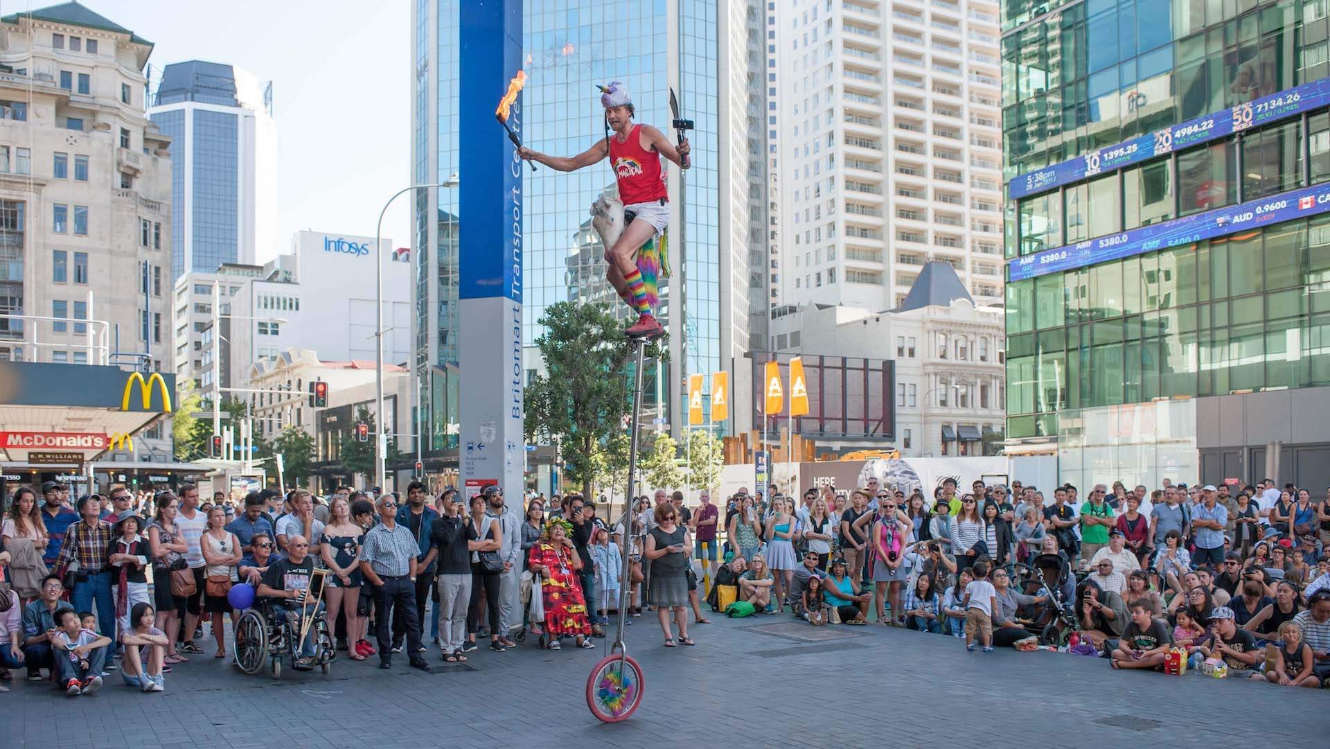 Auckland International Buskers Festival 2019
