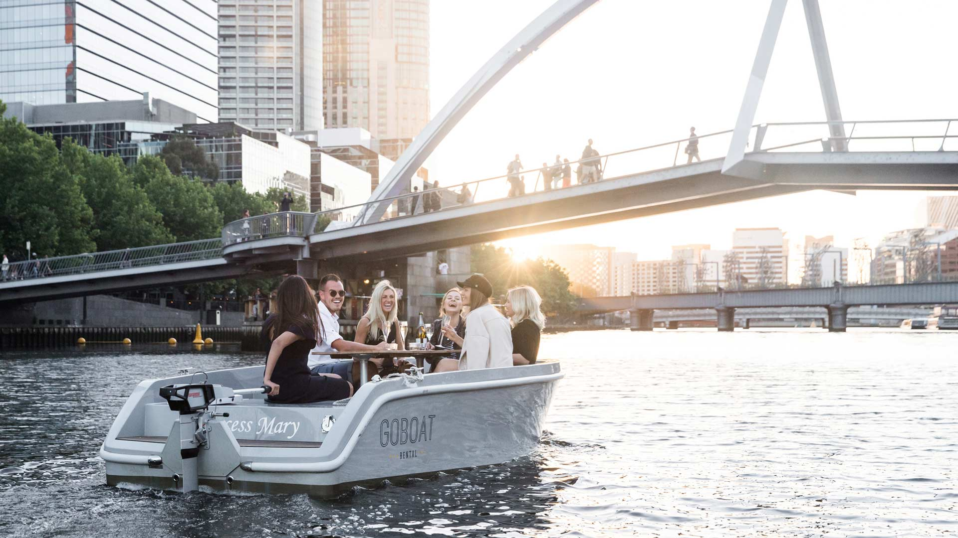 Melbourne's Pet-Friendly BYO Picnic Boats Are Setting Sail Once Again