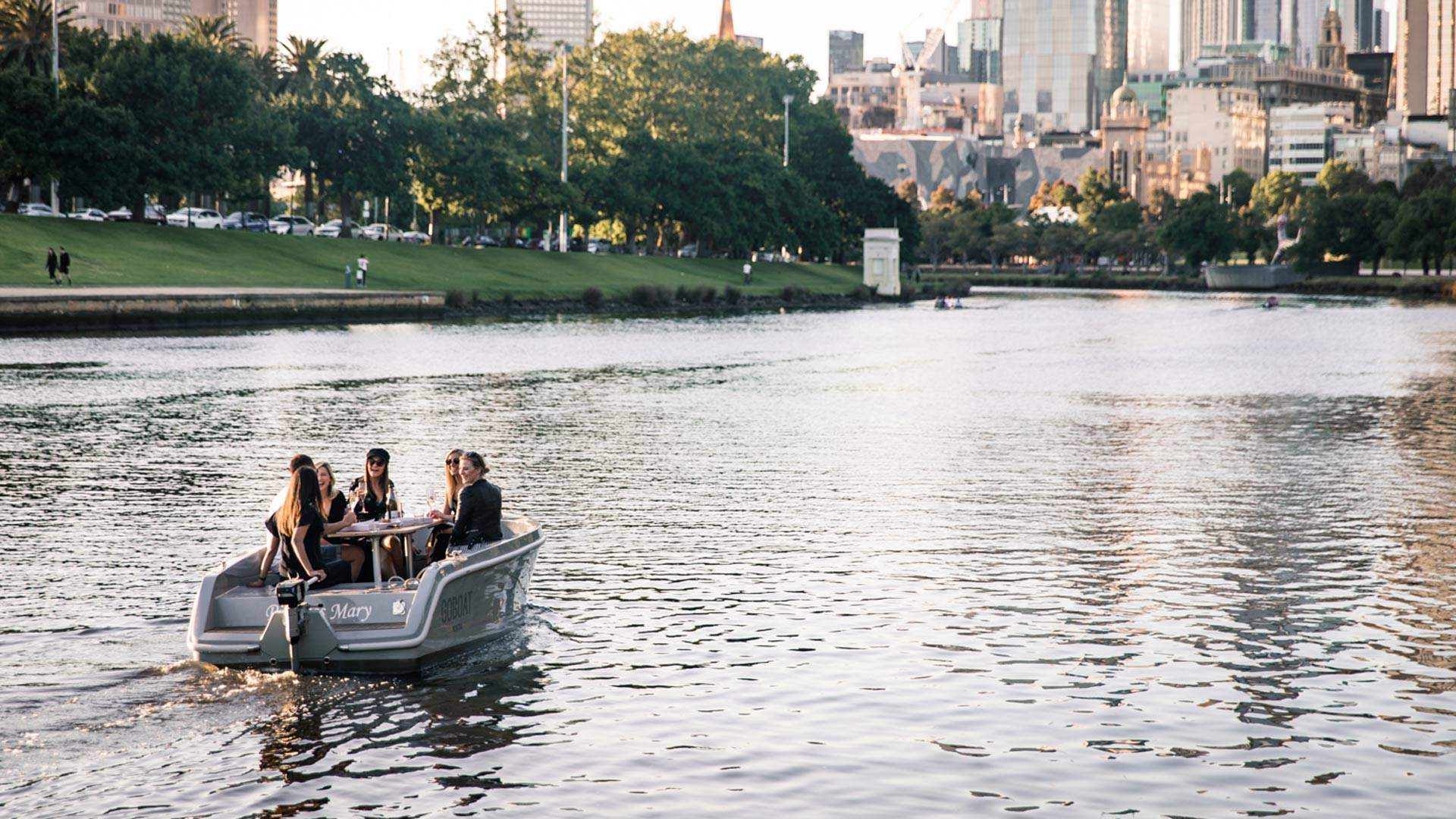 You'll Soon Be Able to Hire a Picnic Boat to Sail Down the Yarra River
