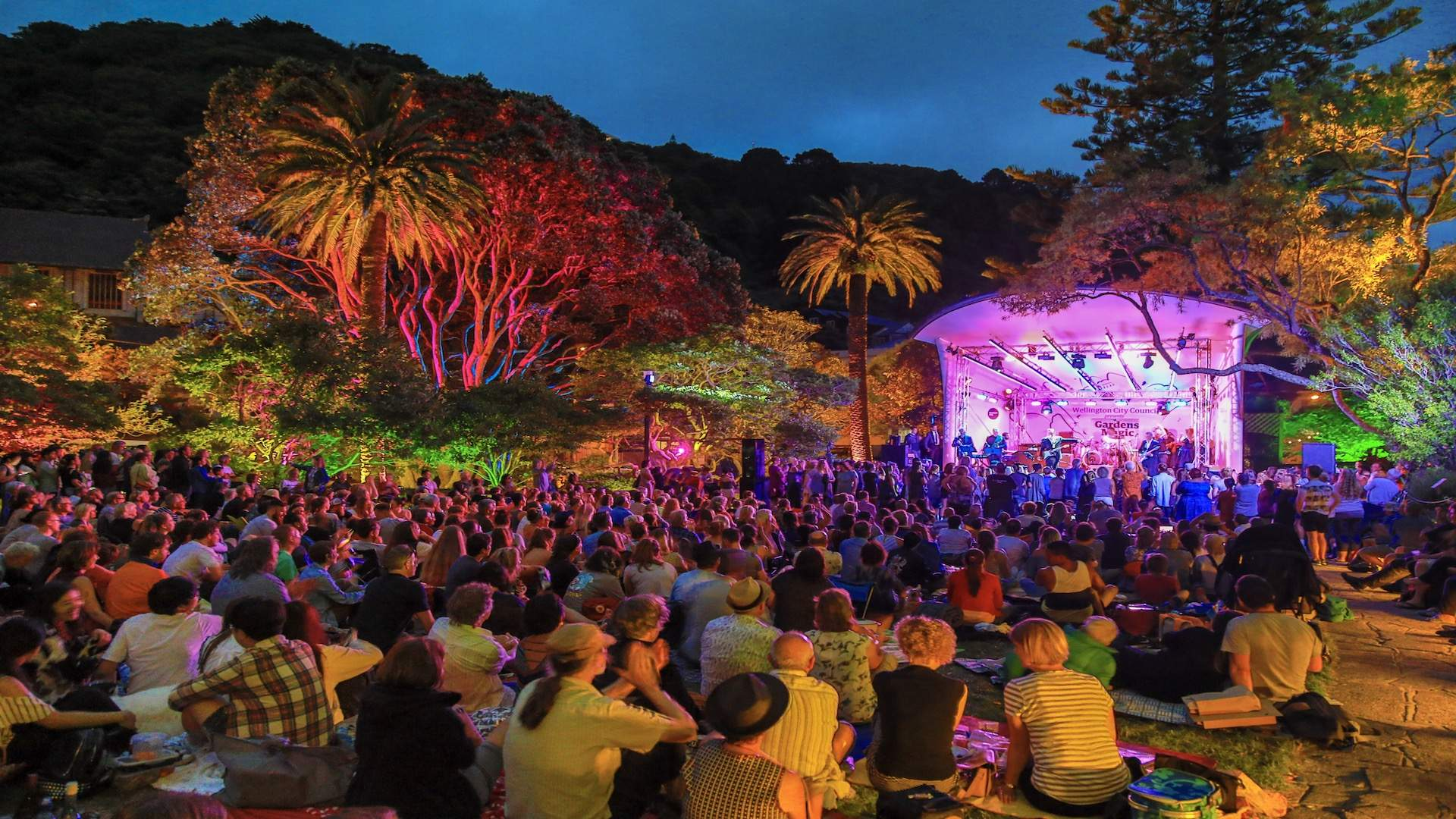 The Summer Lineup for Wellington's Openair Concert Series Is Here