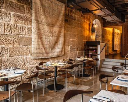 Tayim Is Sydney's New Middle Eastern Restaurant Tucked Away in a Sandstone Building in The Rocks
