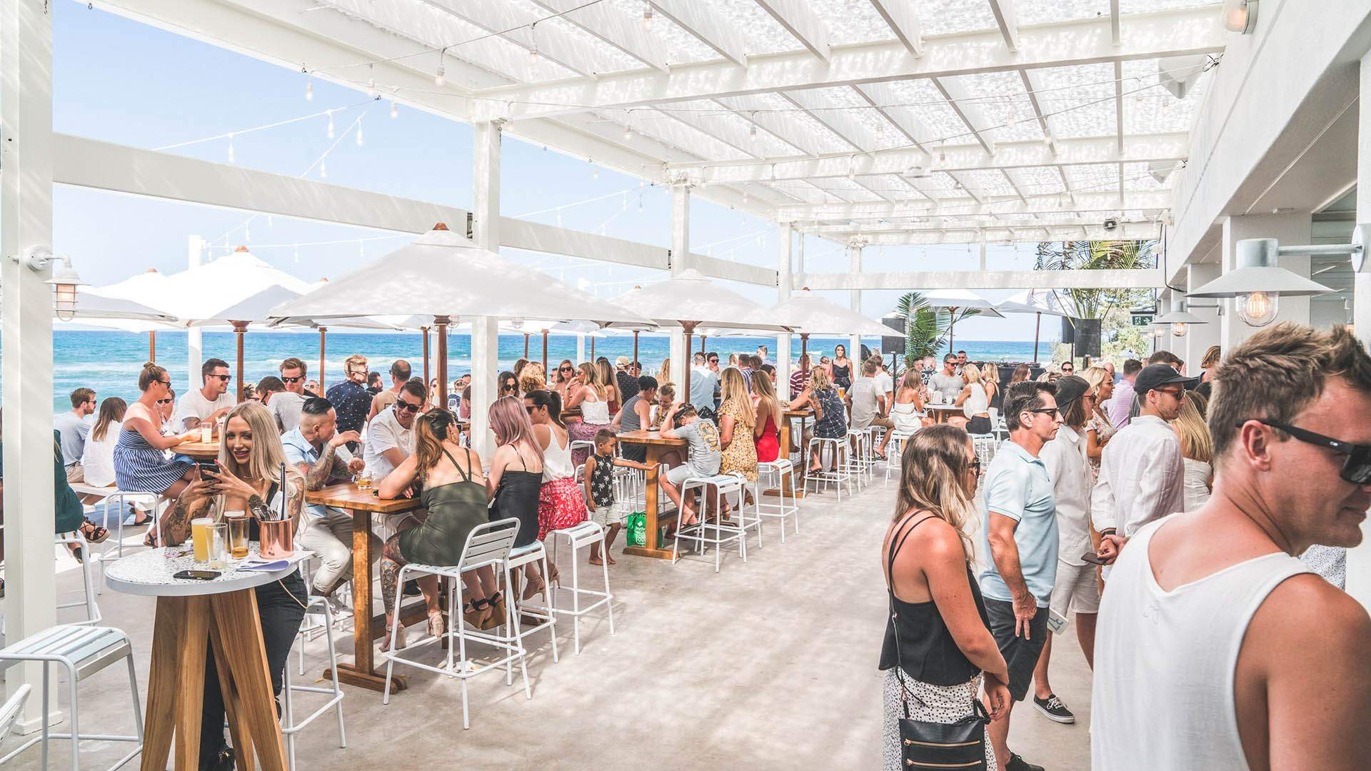 Burleigh Pavilion Is the Gold Coast's Huge New Beachfront Bar and Eatery