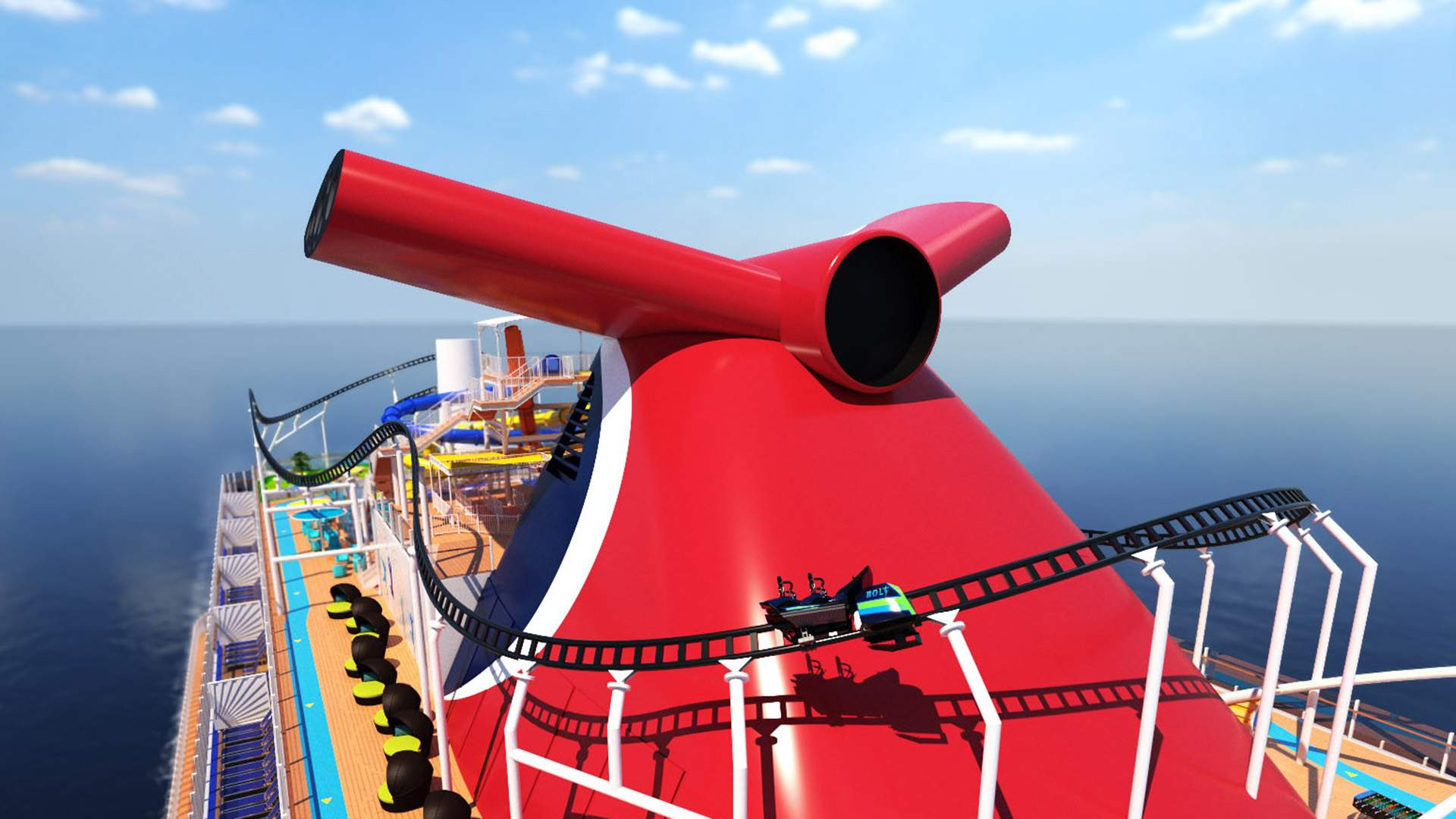 You'll Soon Be Able to Sail on the World's First Cruise Ship with an Onboard Roller Coaster
