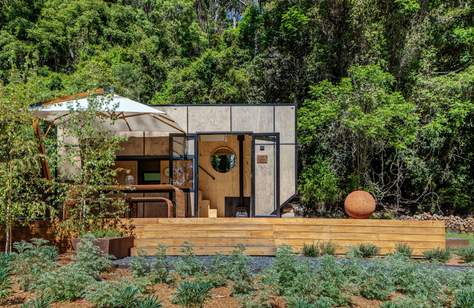 Cabn Lets You Stay in Your Own Tiny Solar-Powered House in the NSW Wilderness
