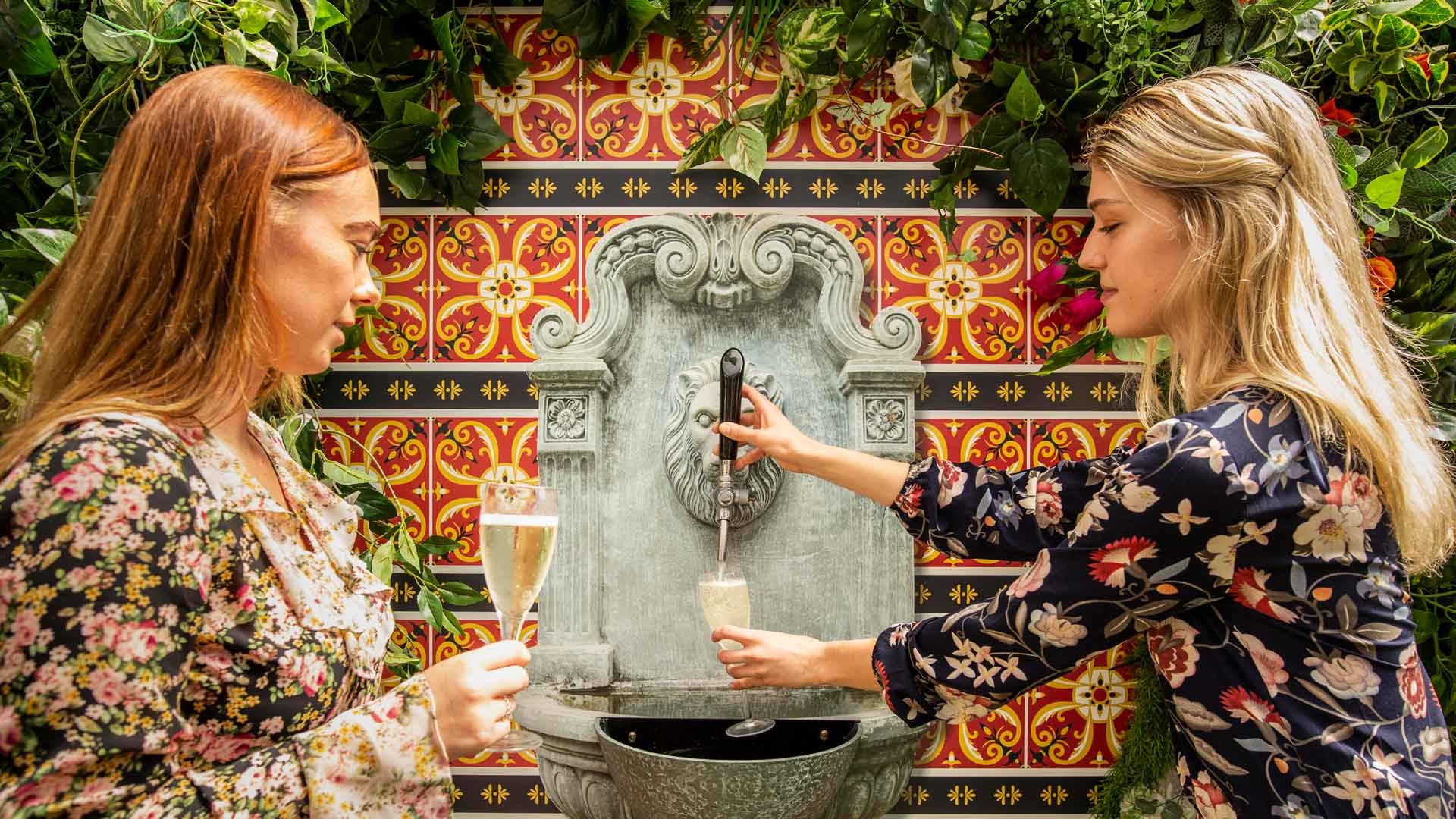 Paddington's Darling & Co Is Now Home to a Bottomless Prosecco Fountain