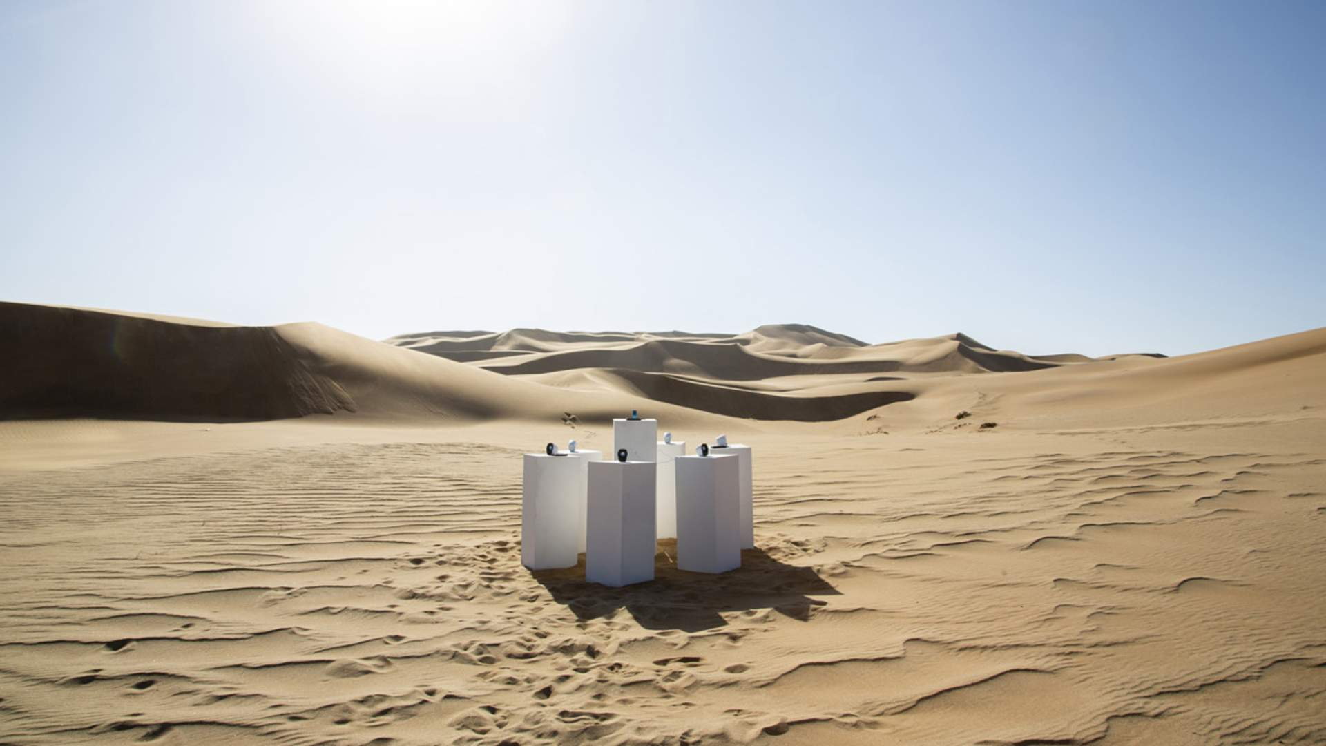 This New Art Installation Is Playing Toto's 'Africa' Non-Stop in the African Desert
