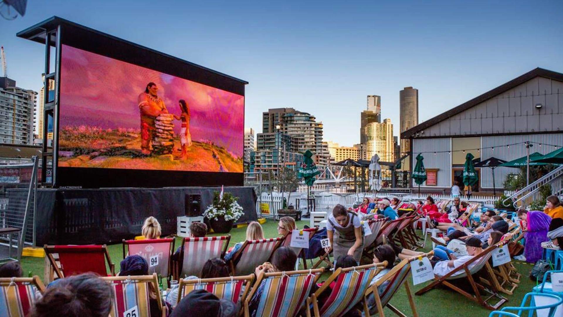 South Wharf Pop-Up Cinema 2019