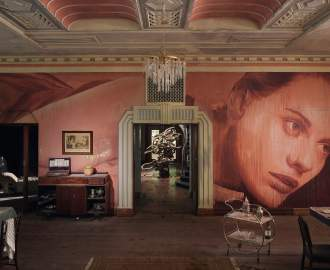 This Deserted 1930s Mansion in the Dandenongs Has Been Transformed Into a Haunting Immersive Installation