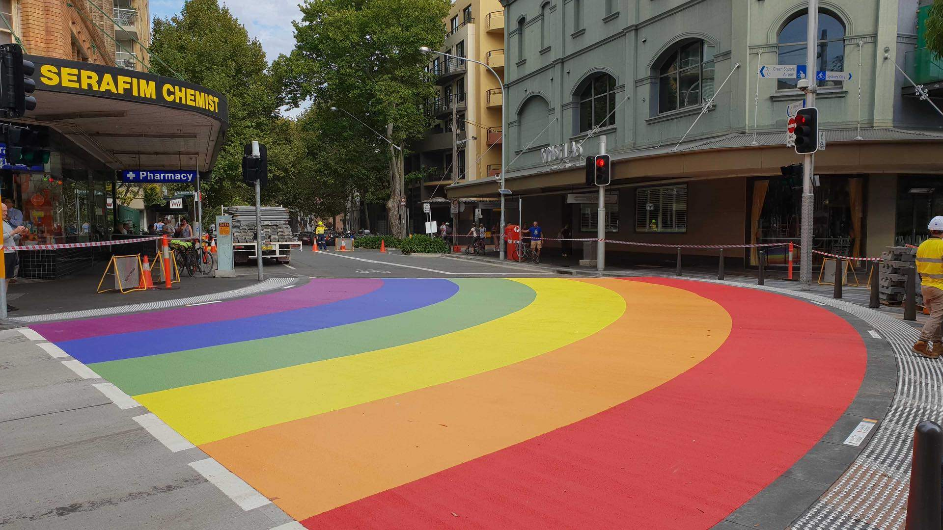 Sydney's Legendary Rainbow Crossing Has Been Joyously Reinstated