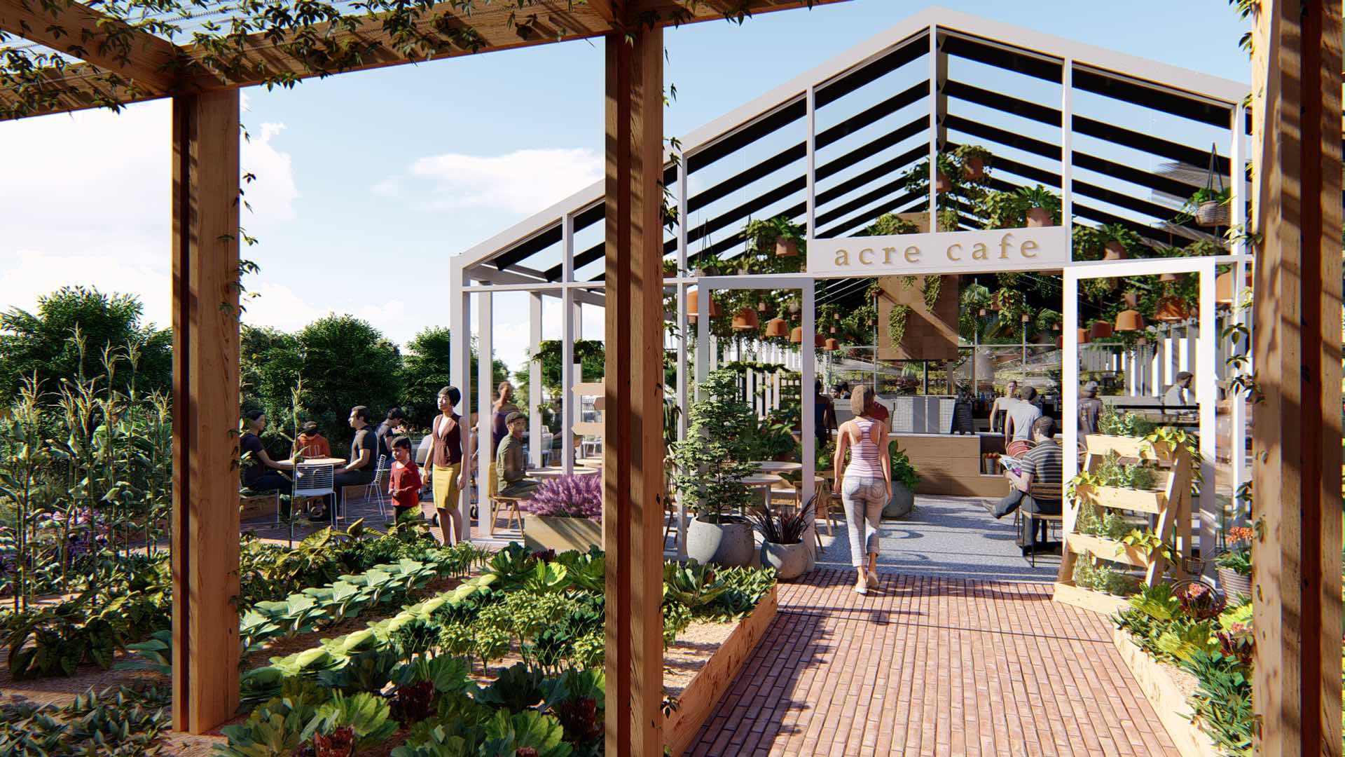 This Is What Melbourne's Huge Soon-to-Open Urban Rooftop Farm Will Look Like