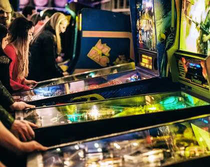 Back to the 80s Pinball Party
