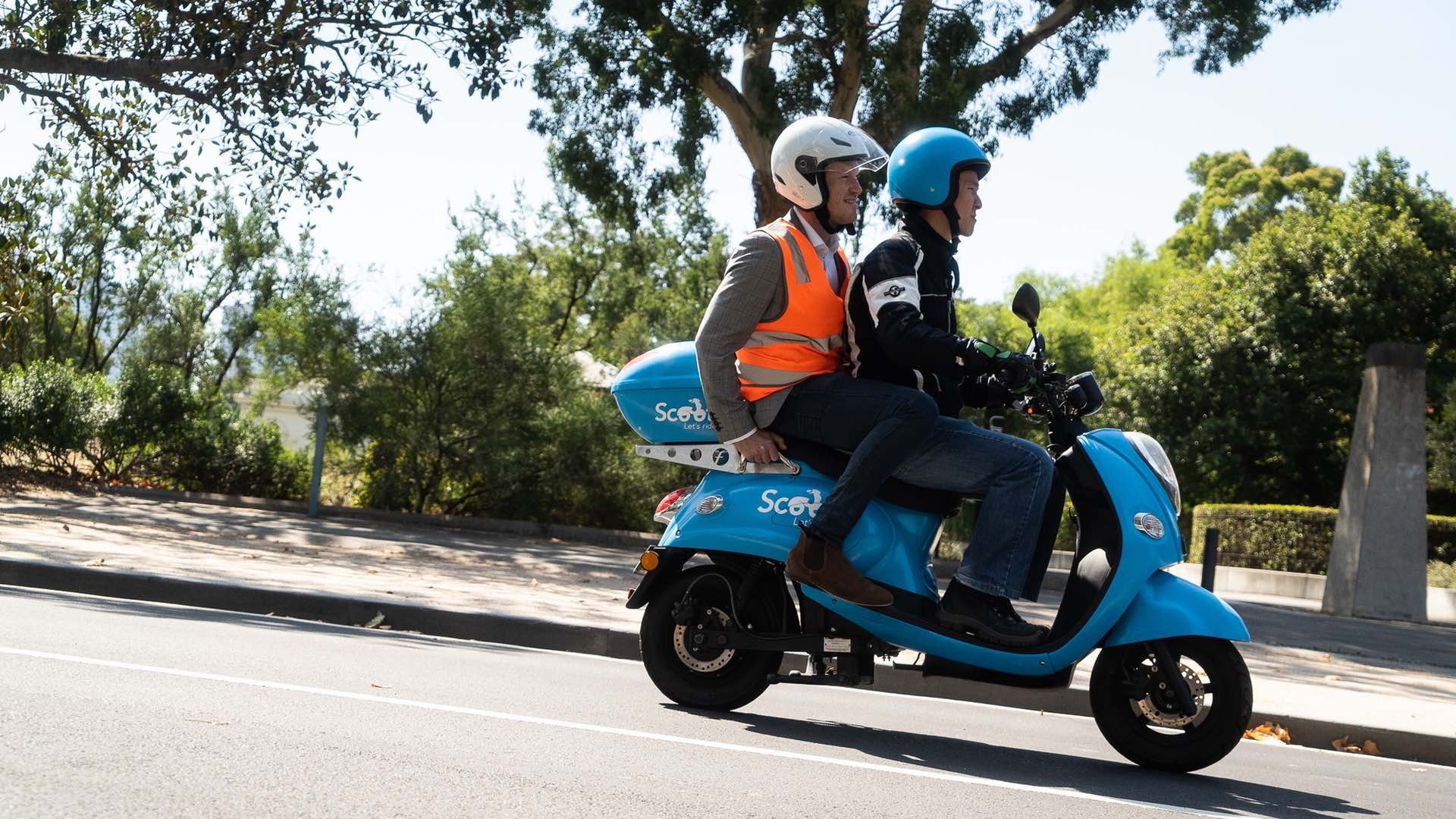 Australia's First Scooter Taxi Service Is Now Scooting Around the Streets of Melbourne