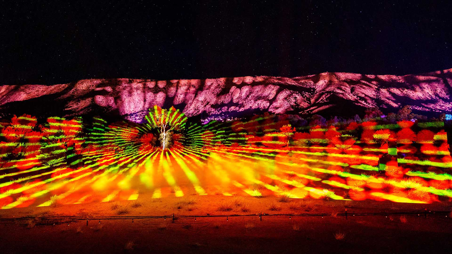 Alice Springs' Dazzling Parrtjima Festival Has Revealed Its Luminous 2020 Program