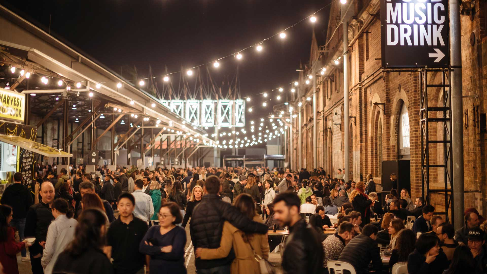 Carriageworks Winter Night Market 2019