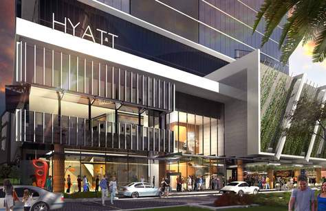 Woolloongabba Is Set to Score a Luxe New Hyatt Hotel with a Rooftop Pool and Bar