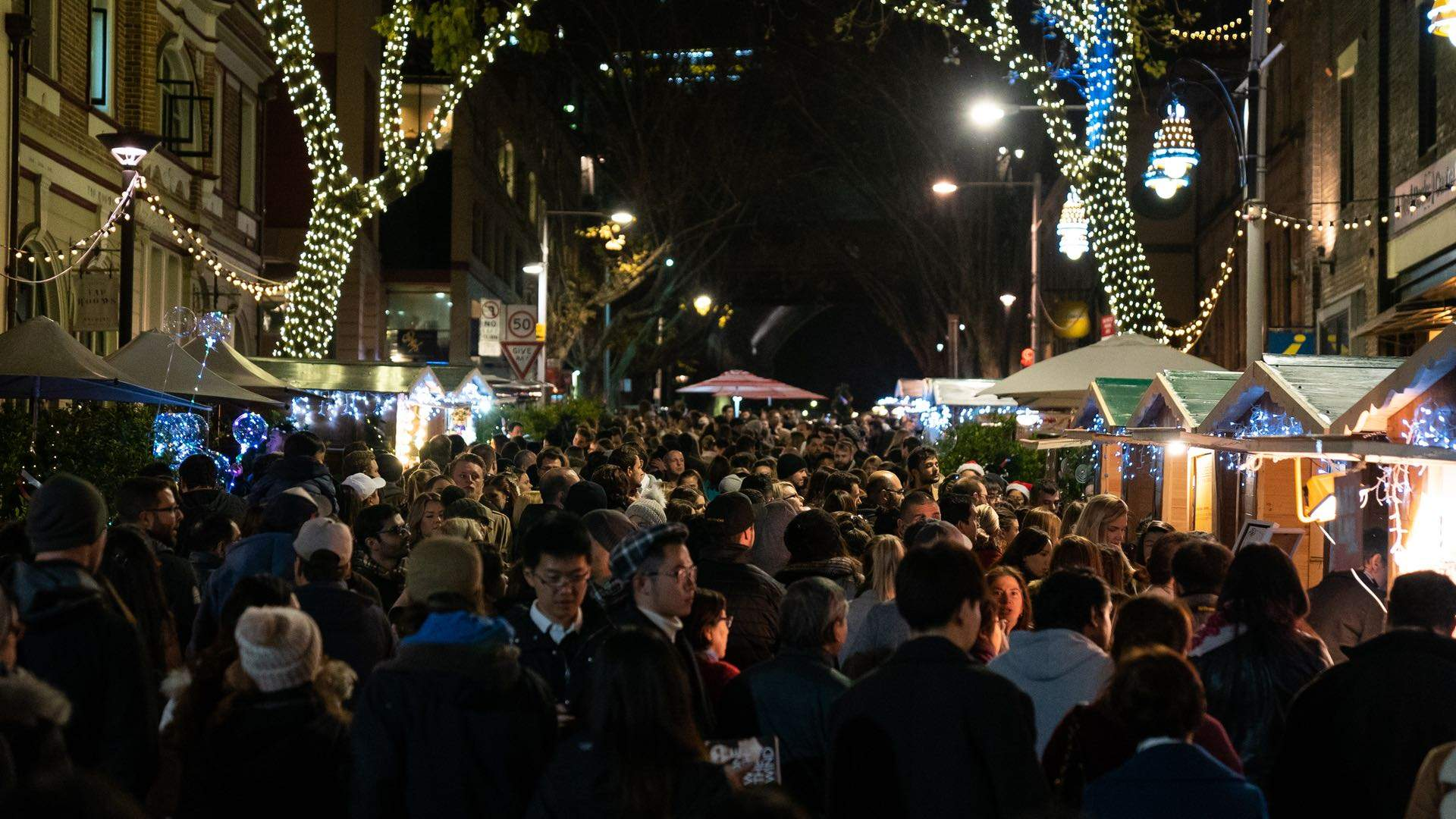 The Rocks Christmas in July Markets 2019