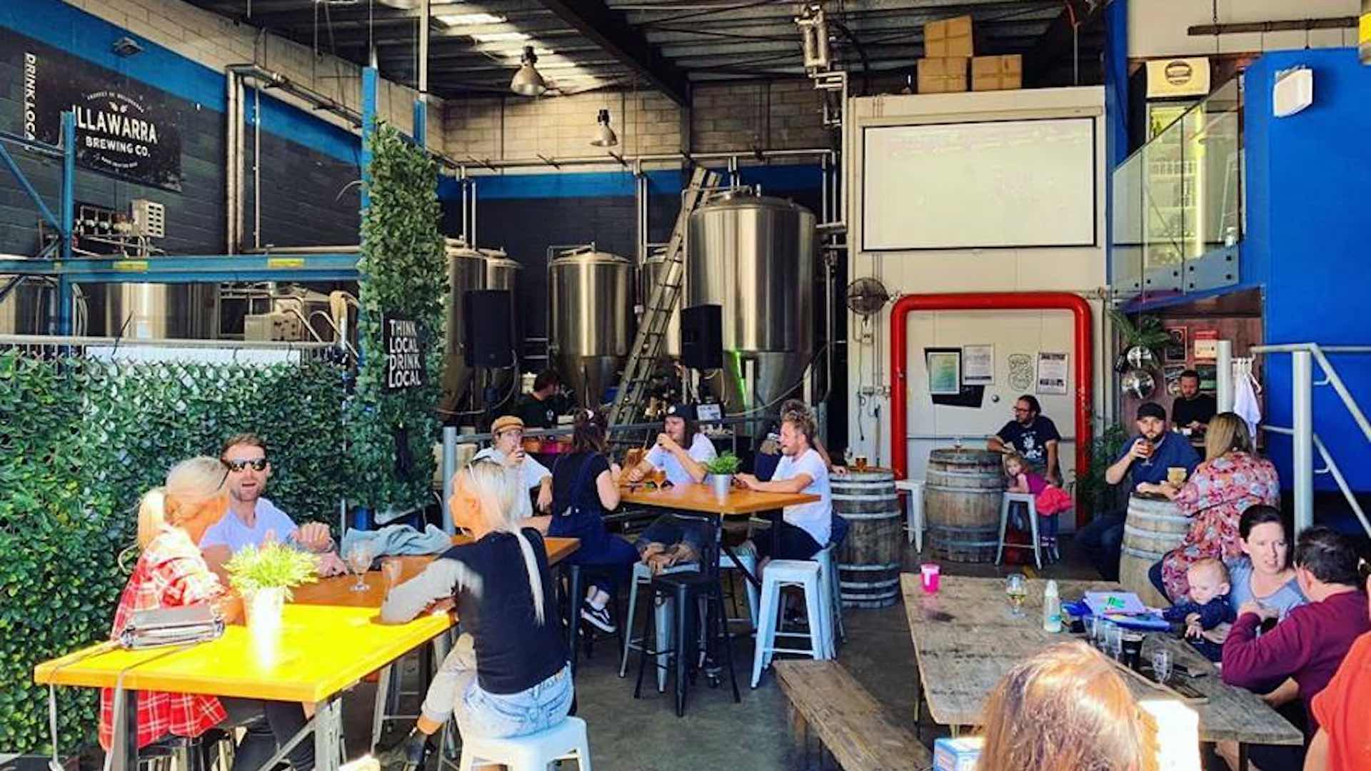 Illawarra Brewing Company Brewhouse